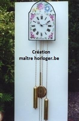 création horloge