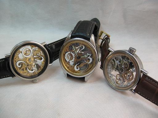 Spécialisé dans les montres squelette faites mains