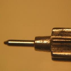 pivot roue d'chappement