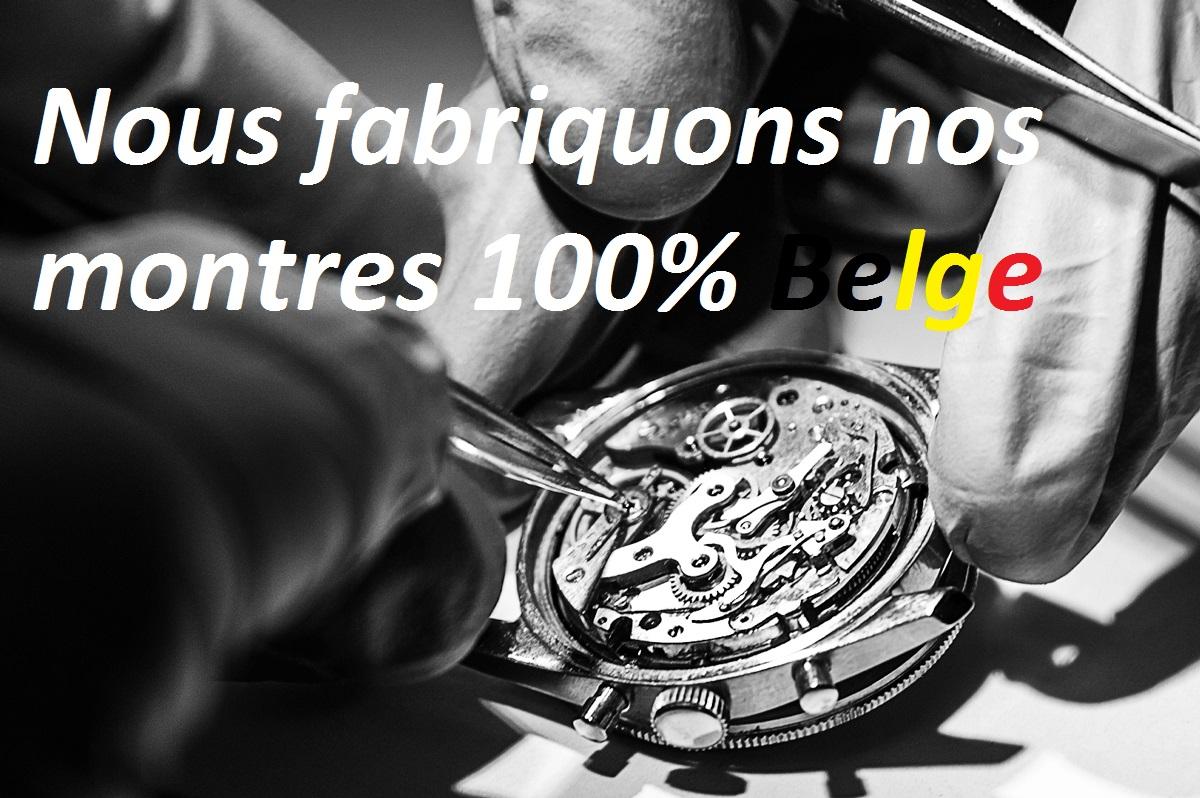 Manufacture belge de montres Stevens artisanat horloger.            tél 084/31 57 76  Rue Dupont 1. 6900 marche-en-famenne Belgique